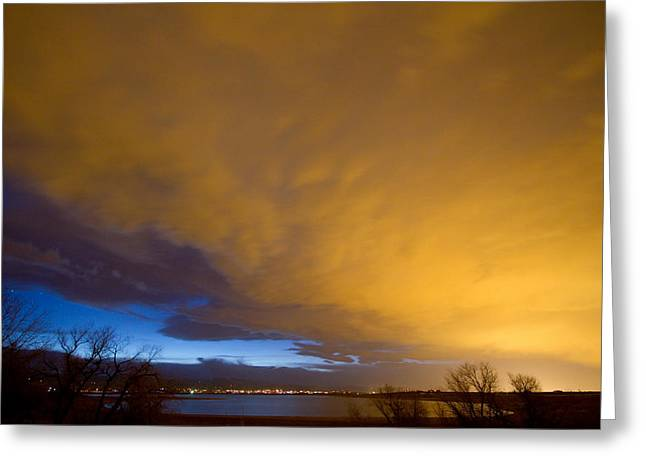 Storm Prints Greeting Cards - Storm Front Greeting Card by James BO  Insogna
