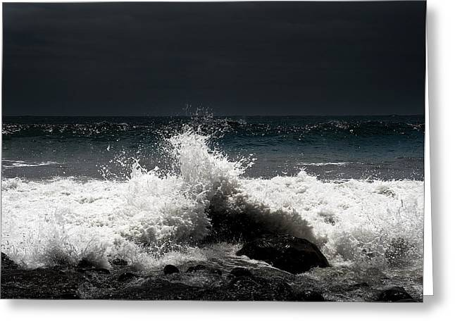 Dander Greeting Cards - Storm light Greeting Card by Joseph Amaral