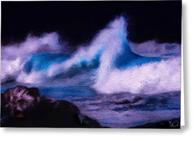 Perfect Storm Greeting Cards - Storm Surge Greeting Card by David Derr