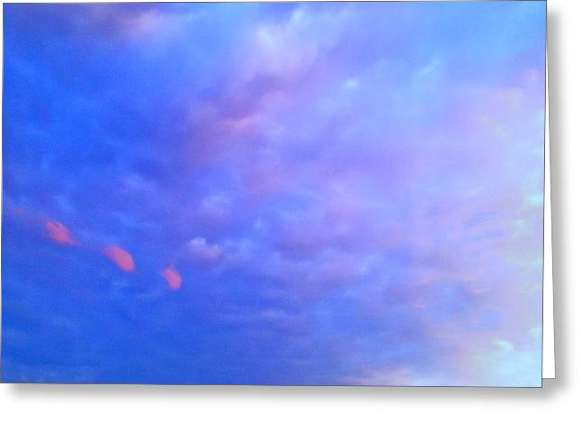 Gloaming Greeting Cards - Stormy Skies 2 Greeting Card by Robert Pierce