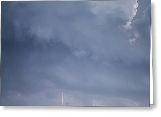 Stormy Skies Greeting Card by Jim McCain