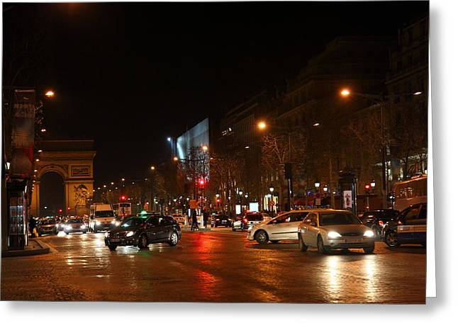 Life Photographs Greeting Cards - Street Scenes - Paris France - 011320 Greeting Card by DC Photographer