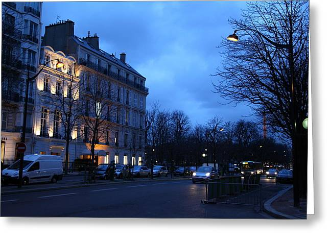 Street Scenes - Paris France - 011332 Greeting Card by DC Photographer