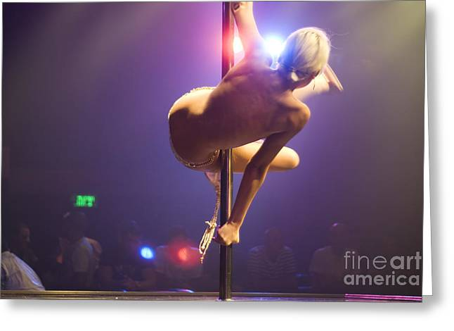 Social Life Photographs Greeting Cards - Strippers Club  Greeting Card by Shay Fogelman