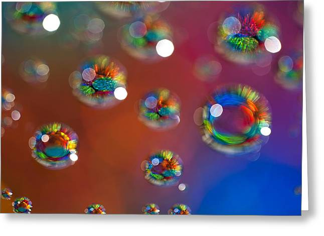 Fractal Orbs Greeting Cards - Study 147 Greeting Card by Al Hurley