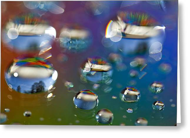 Fractal Orbs Greeting Cards - Study 153 Greeting Card by Al Hurley