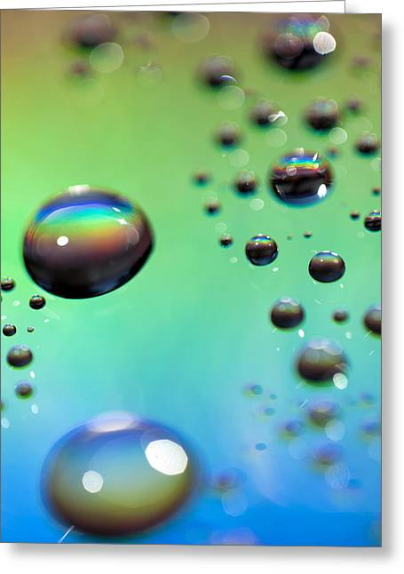 Iridescence Greeting Cards - Study 59 Greeting Card by Al Hurley