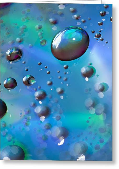 Iridescence Greeting Cards - Study 83 Greeting Card by Al Hurley