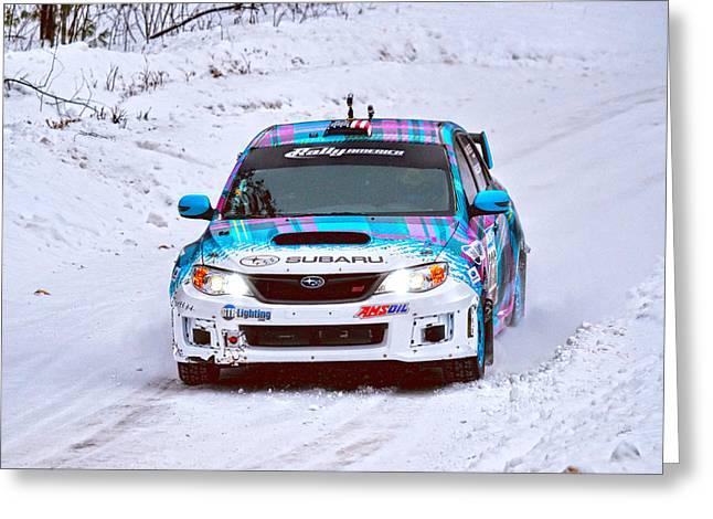 Subaru Car 202 Greeting Card by Rick Jackson