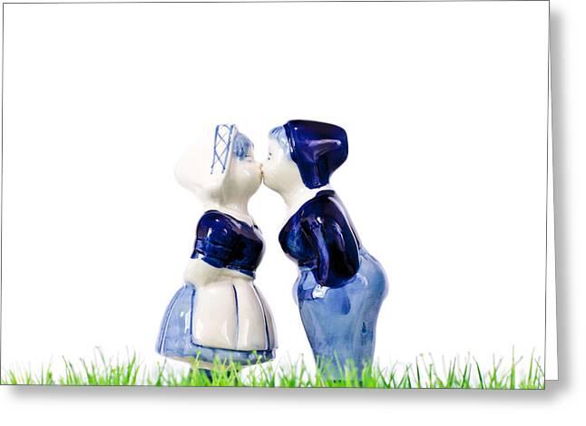 Summer Love Greeting Card by Martin Bergsma