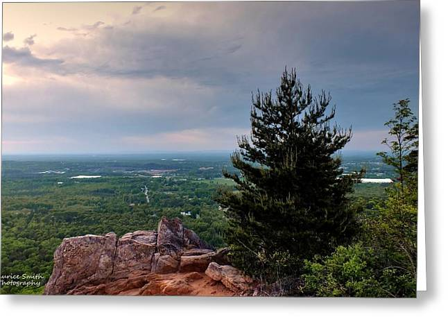 Sunset At Crowders Mountain Greeting Card by Maurice Smith