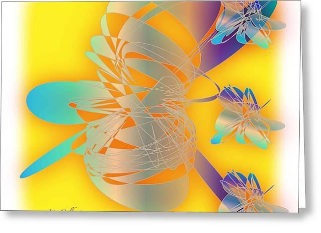 Sunshine Greeting Card by Iris Gelbart