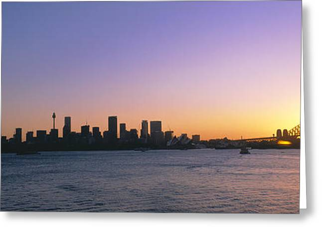 Colorful Photography Greeting Cards - Sydney, Australia Greeting Card by Panoramic Images
