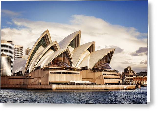 Australian Photographs Greeting Cards - Sydney Opera House Greeting Card by Colin and Linda McKie