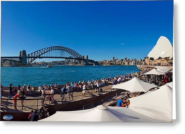 Featured Art Greeting Cards - Sydney Opera House, Sydney, New South Greeting Card by Panoramic Images