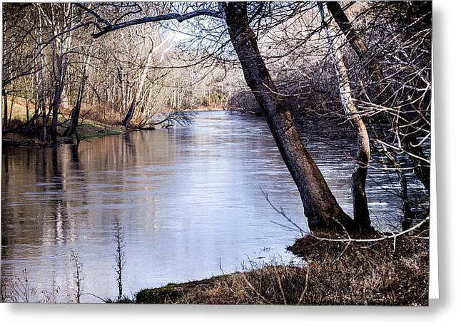 Fishing Creek Greeting Cards - Take Me To The River Greeting Card by Karen Wiles