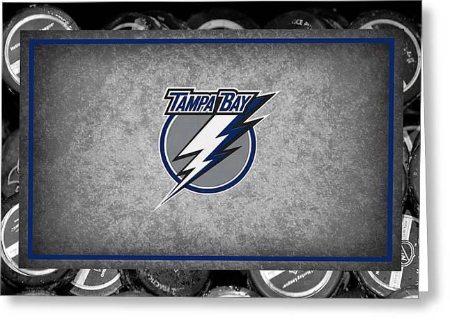 Lightning Greeting Cards - Tampa Bay Lightning Greeting Card by Joe Hamilton
