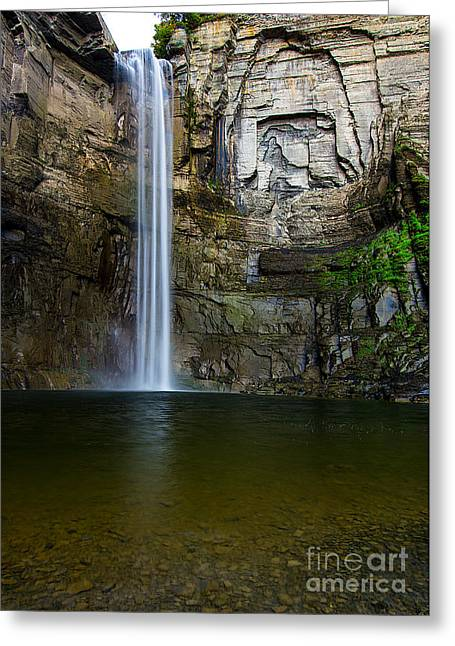 Recently Sold -  - Ithaca Greeting Cards - Taughannock Falls Greeting Card by Brad Marzolf Photography