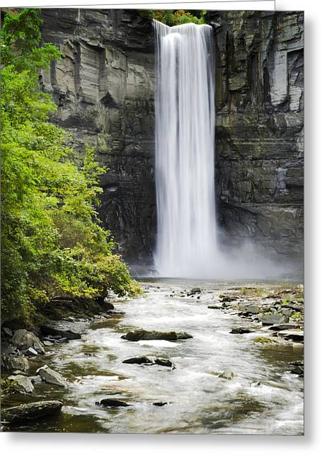 Taughannock Falls State Park Greeting Cards - Taughannock Falls State Park Greeting Card by Christina Rollo