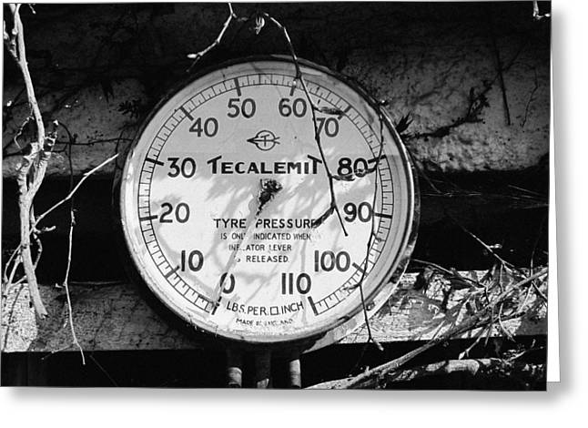 Bar Accessory Greeting Cards - Tecalemit  Greeting Card by Roland Byrne