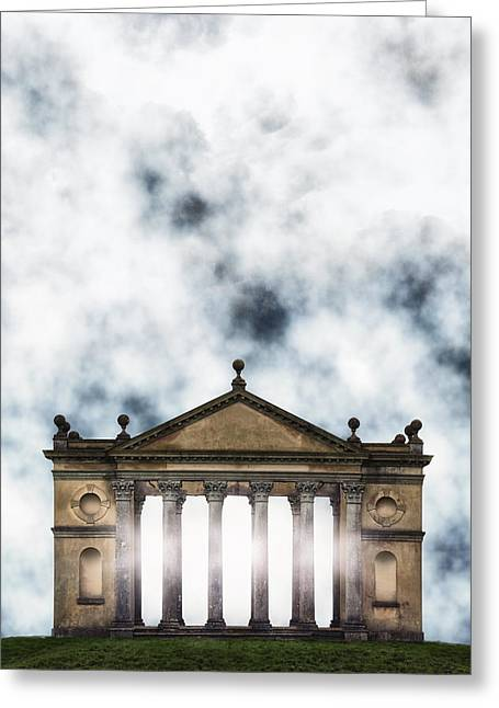 Temple Photographs Greeting Cards - Temple Greeting Card by Joana Kruse