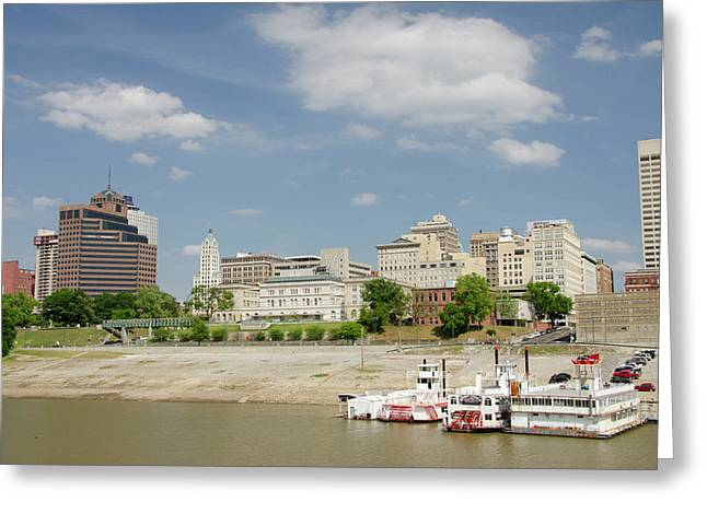 Tennessee, Memphis Greeting Card by Cindy Miller Hopkins