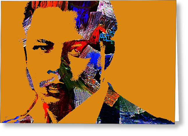 Terrence Howard Collection Greeting Card by Marvin Blaine
