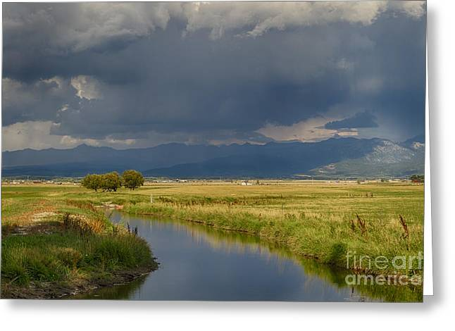 Teton Valley  Greeting Card by Idaho Scenic Images Linda Lantzy