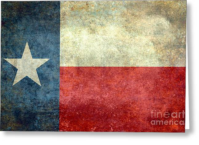 Republican Greeting Cards - Texas the lone star state Greeting Card by Bruce Stanfield