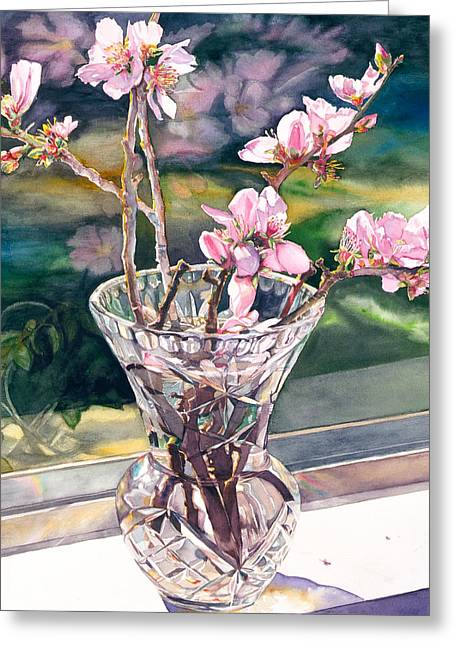 Thank You Vincent Greeting Card by Judy Koenig