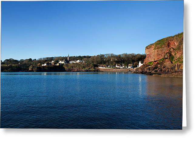 Thatch Greeting Cards - Thatched Cottages, Dunmore Strand Greeting Card by Panoramic Images