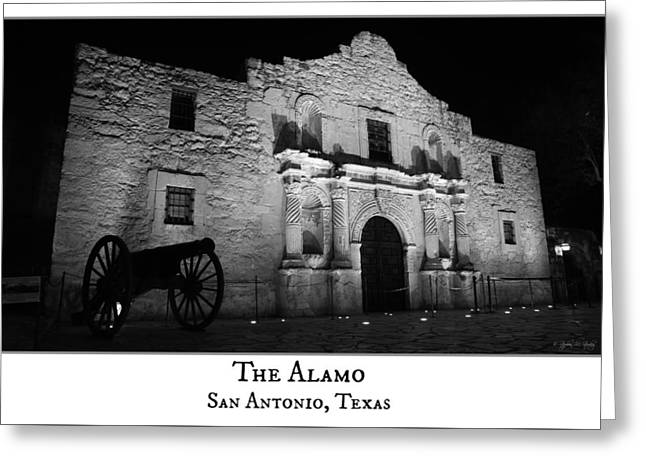The Alamo Greeting Card by Stephen Stookey