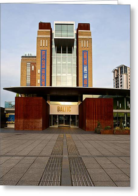 The Baltic - Gateshead Greeting Card by Stephen Taylor