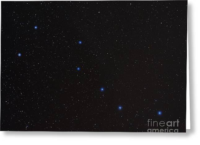 The Big Dipper Greeting Card by John Chumack