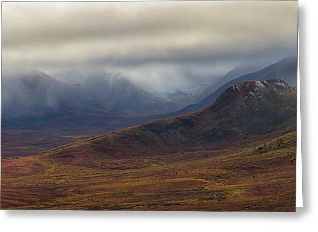 The Blackstone Valley Greeting Card by Robert Postma