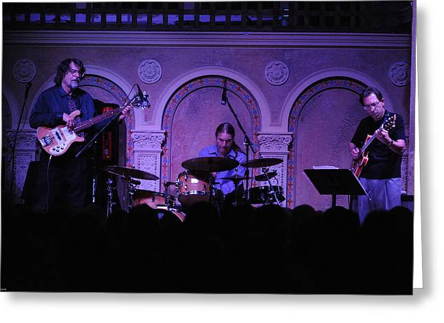 Brubeck Greeting Cards - The Brubeck Brothers In Concert Greeting Card by Robert Klemm