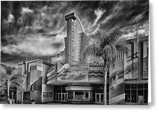 The Century Theatre In Ventura Greeting Card by Mountain Dreams