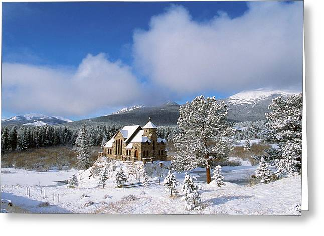 The Chapel on the Rock I Greeting Card by Eric Glaser