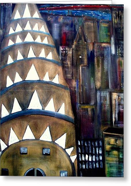 The City That Never Sleeps  Greeting Card by Rick Todaro