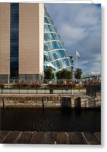 Enterprise Greeting Cards - The Convention Centre Dublin , Dublin Greeting Card by Panoramic Images
