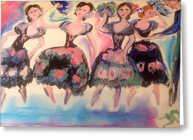 Choreographer Greeting Cards - The fantastic waltz Greeting Card by Judith Desrosiers