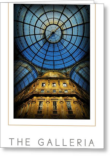 Mike Nellums Greeting Cards - The Galleria poster Greeting Card by Mike Nellums