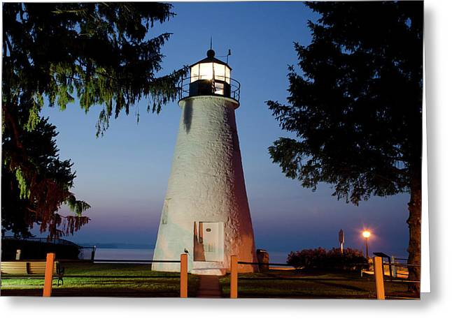 Concord Point Greeting Cards - The Guiding Light Greeting Card by Crystal Wightman