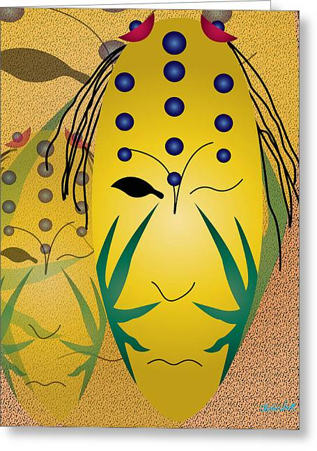 The Living Seed Greeting Card by Charles Smith