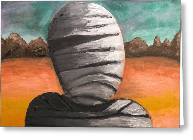 The Mummy And The Curse Of Eternity Greeting Card by Jorgo Photography - Wall Art Gallery