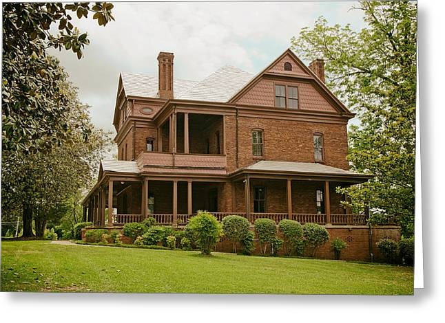 Tuskegee Greeting Cards - The Oaks - Home of Booker T Washington Greeting Card by Mountain Dreams