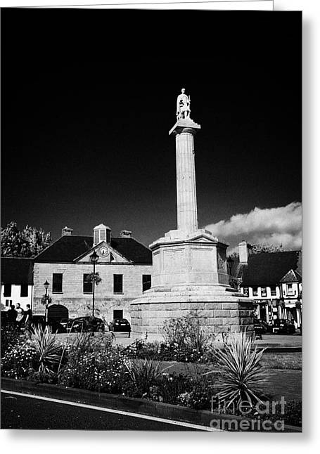 Westport Greeting Cards - The Octagon With Statue Of St Patrick Westport County Mayo Republic Of Ireland Greeting Card by Joe Fox