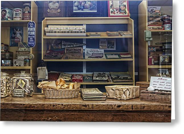 Country Store Greeting Cards - The Old Country Store Greeting Card by Renee Dawson
