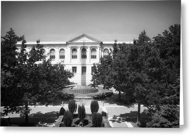 University Of Arkansas Greeting Cards - The Old Main - University of Arkansas Greeting Card by Mountain Dreams