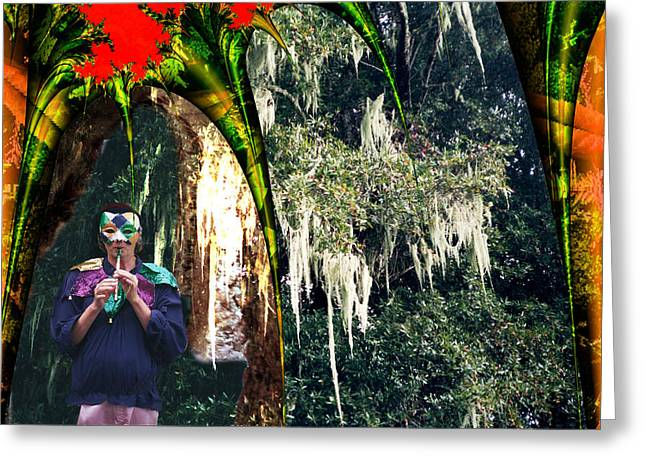 The Other Forest Greeting Card by Lisa Yount
